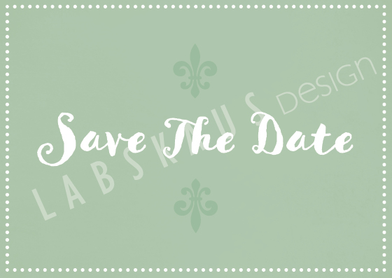 Save The Date PK 0095