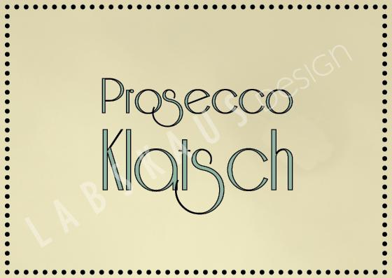 Prosecco Klatsch SH 0031