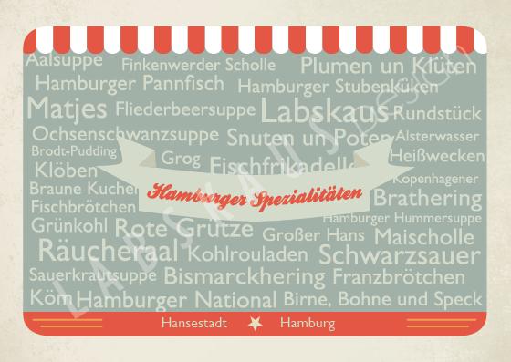 Hamburger Spezialitäten T 0032