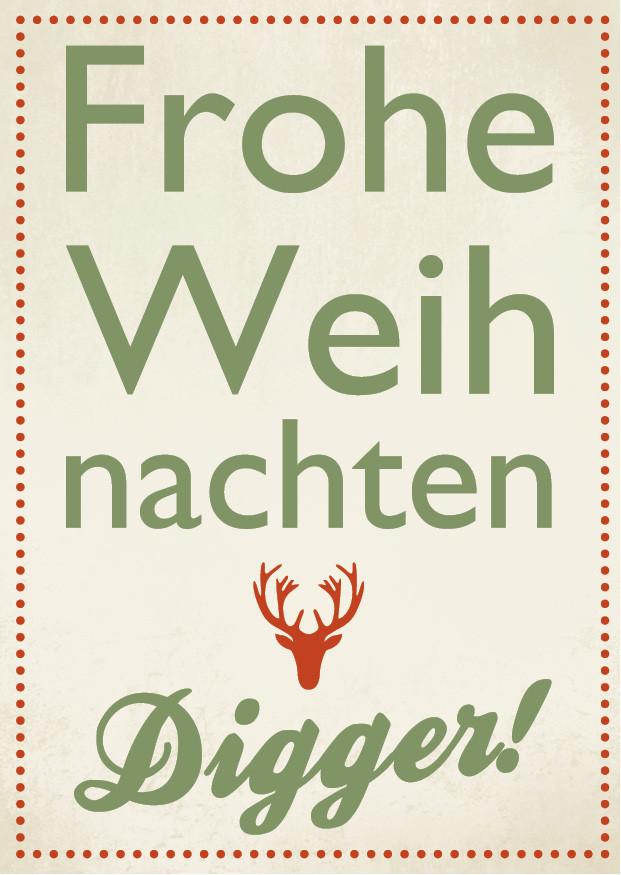 Weihnachten Digger WK 0062