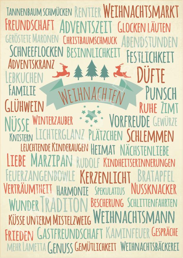 Weihnachtswörter WK 0068