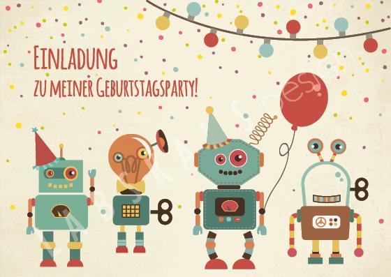 Einladung Roboter PK 0113