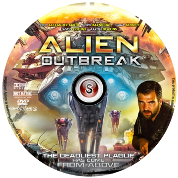 Alien outbreak Cover DVD