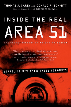 Inside the Real Area 51: The Secret History of Wright Patterson by by Thomas J. Carey an Donald R. Schmitt