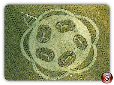 Crop circles - Honey Street, Wiltshire UK 2011