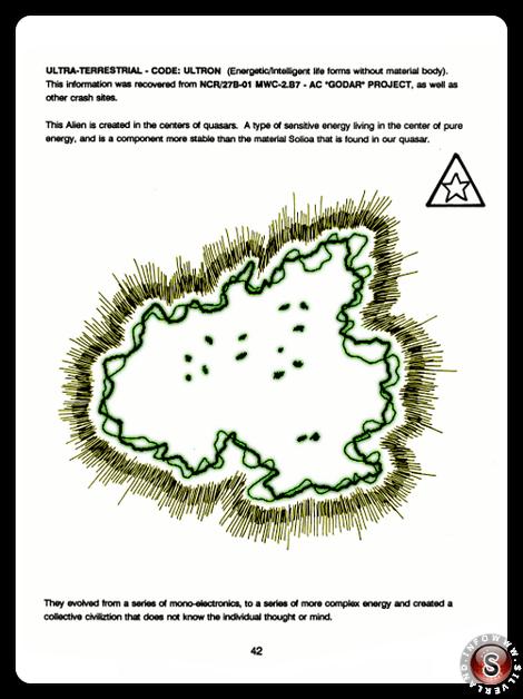 Ultra-terrestrial - code Ultron - Blue Planet Project - Rielaborazione grafica Silverland