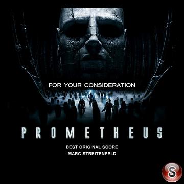 Prometheus Soundtrack Cover CD
