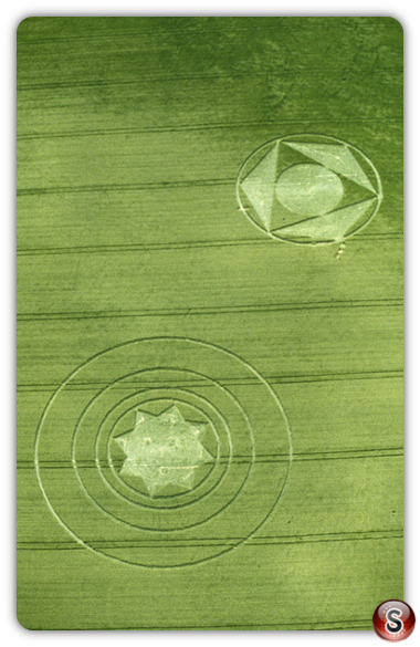 Crop circles - Beckhampton, Wiltshire 2000