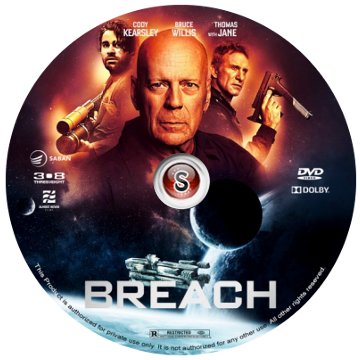 Breach Cover DVD