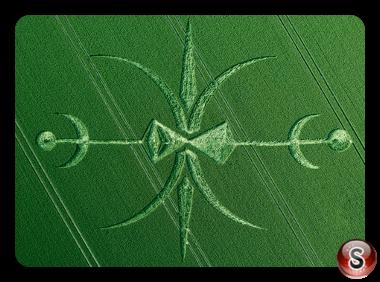Crop circles - Stoford Wiltshire UK 2015