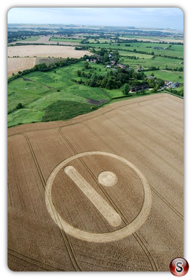 Crop circles - Stanton St. Bernard 2007