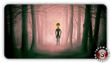 Alieno nel bosco
