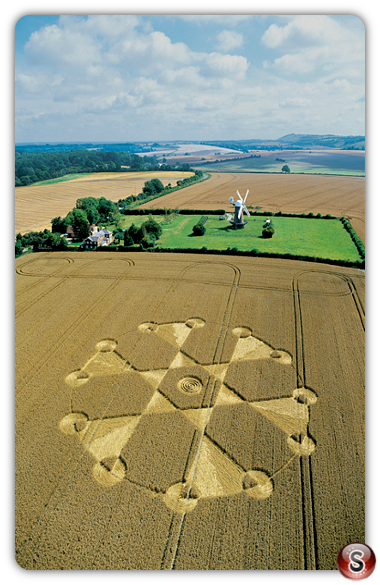 Crop circles - Wilton Windmill Wiltshire 2004
