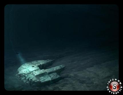 UFO in fondo al mare
