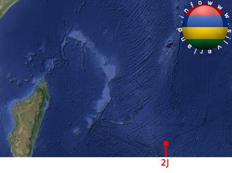 Base aliena a largo delle Mauritius