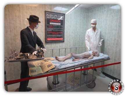 Ricostruzione dell'autopsia ad un alieno - Caso Santilli