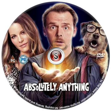 Un'occasione da Dio- Absolutely Anything - Cover DVD