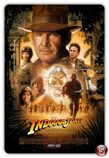 Indiana Jones e il regno del teschio di cristallo - Indiana Jones and the Kingdom of the Crystal Skull - Locandina - Poster