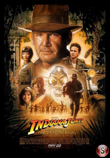 Indiana Jones e il regno del teschio di cristallo - Indiana Jones and the Kingdom of the Crystal Skull - Locandina - Poster