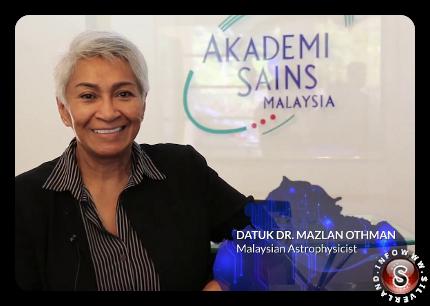 Mazlan Binti Othman, l'astrofisica malese che nel marzo del 2013 è divenuta direttore dell'Ufficio per gli Affari Spaziali dell'ONU ( UNOOSA ). Il compito di questo Ente è preparare l'umanità ad un contatto con gli alieni
