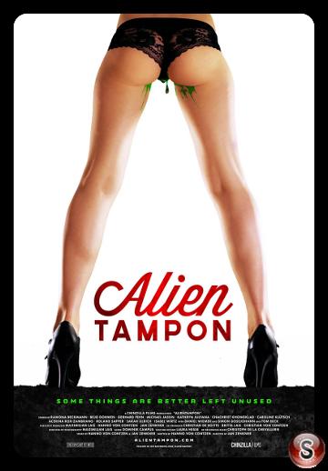 Alien tampon - Locandina - Poster