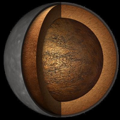 Struttura interna del pianeta Mercurio