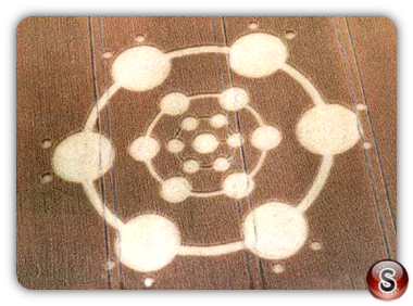 Crop circles - Pilmgrim's Way 2004