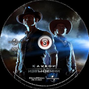 Cowboys & Aliens Cover DVD
