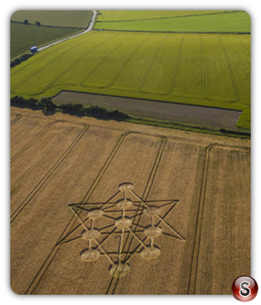 Crop circles Badbury Rings - Dorset 2017