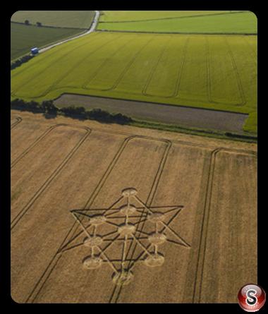 Crop circles - Badbury Rings Dorset 2017