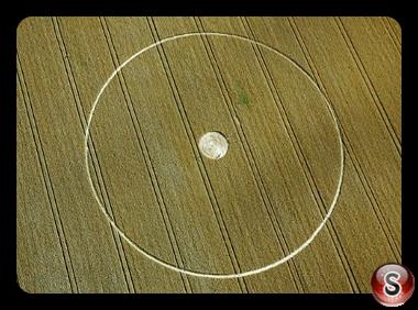 Crop circles - Mixon Nr Etchilhampton Wiltshire 2014