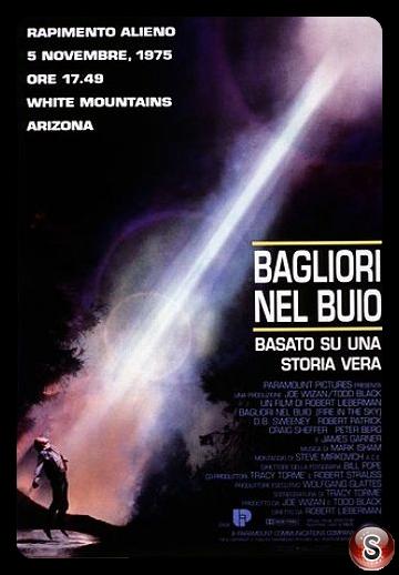 Bagliori nel buio - Fire in the sky - Locandina - Poster