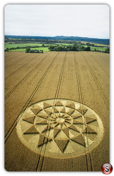 Crop circles - Honey Street, Wiltshire 2001