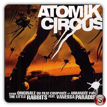Atomik Circus  Soundtracks Cover CD