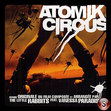 Atomik Circus  Soundtrack Cover CD