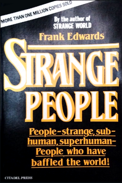 Strange people by Frank Edwards