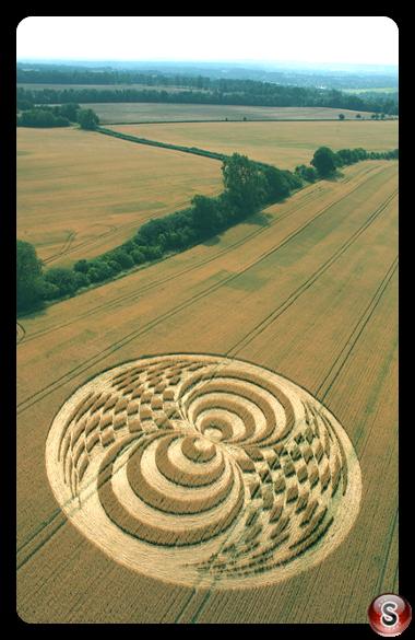 Crop circles - Straight Soley Berkshire 2006