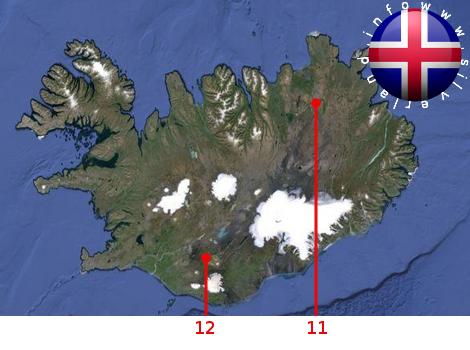 Basi aliene Islanda