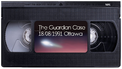 VHS video tape The case Guardian 1991