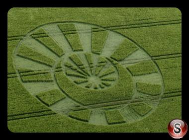 Crop circles - Stitchcombe Wiltshire 2017