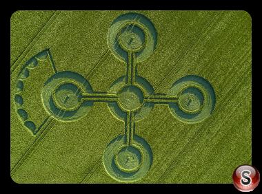 Crop circles Alton Barnes - Wiltshire 2017