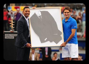 Will Smith & Roger Federer