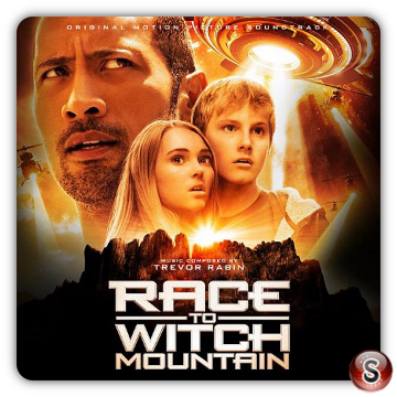 Race to Witch Mountain Soundtrack Cover CD