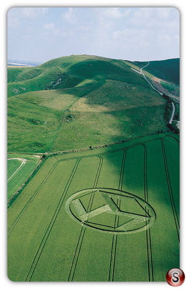 Crop circles - Allington Down, Wiltshire 1999