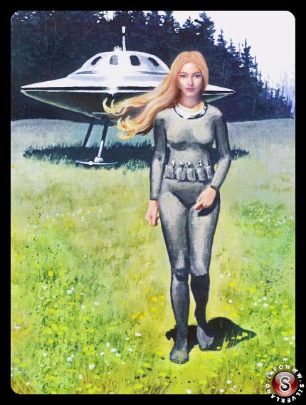 Asket, la Pleiadiana che a  dire di Billy Meier era in contatto con lui da tempo.