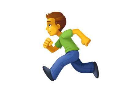 Ragazzo che corre