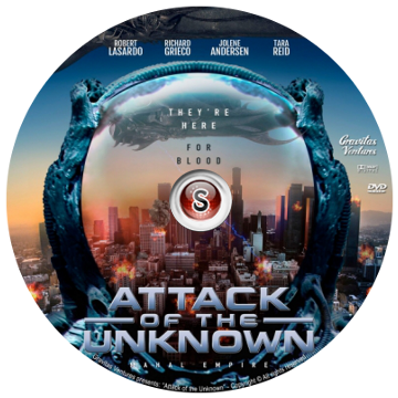 Attack of the unknown Cover DVD