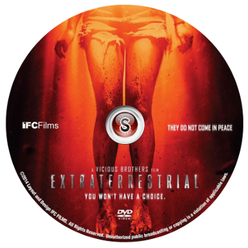 Extraterrestrial Cover DVD