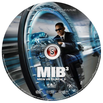 Men in black 3 Cover DVD