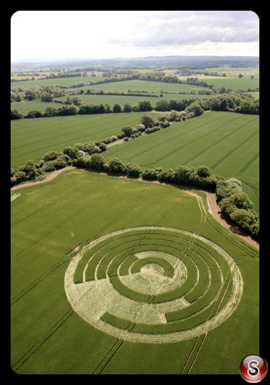 Crop circles - Manton Drove Wiltshire 2012
